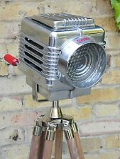 VINTAGE 1940'S CHICAGO FILM SPOT LIGHT INDUSTRIAL LAMP ART DECO THEATRE AMERICAN