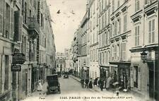 CPA 75 PARIS XVIIe RUE ARC DE TRIOMPHE (cpa animée)