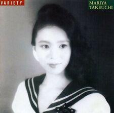 Mariya Takeuchi VARIETY 30th Anniversary Edition Remaster CD JAPAN F/S NEW