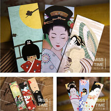 30pcs Cute Kawaii Paper Bookmark Vintage Japanese Style Book Marks Asian Art