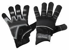 Professionelle Rigger Handschuhe aus Kunstleder in Größe L mit langen Fingern