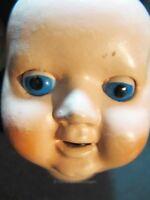 Puppenkopf mit Schlafaugen ALT - für Puppenklinik und Puppenherstellung ca 5 cm