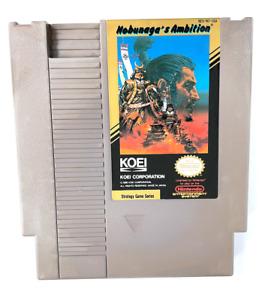 Nobunaga's Ambition Original Nintendo NES Game Tested + Working & Authentic