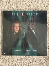 X-Files - Wetwired / Talitha Cumi - Laserdisc - David Duchovny - RARE