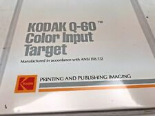 Kodak Q60R2 X-rite colour input test target