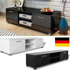 TV Schrank Spanplatte Fernsehtisch Low board TV Möbel Fernsehstand 120x40cm NEU