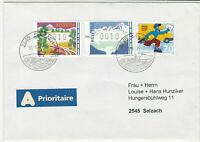 switzerland 1997 atm vending machine stamps cover ref 19239