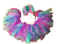 Neon Tutu Skirt Mermaid Turquoise Pink Lilac Lavender 80's Fancy Dress Hen Party