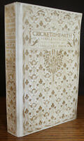 1905 The Cricket on the Hearth Charles Dickens Illustrated BROCK Vellum Binding