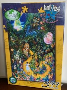 Wizard Of Oz Family Puzzle The Yellow Brick Road 399 Pieces Serendipity Soy Ink