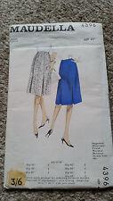 """Maudella vintage Pattern 4396 Skirt 46"""" hip"""