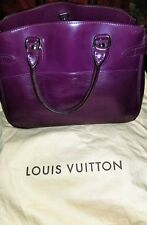 Authentic Epi Leather LOUIS VUITTON Purple Passy PM in Classic