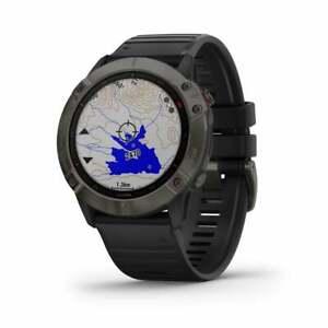 Garmin Fenix 6X Sapphire 51mm SmartWatch - Carbon 010-02157-11