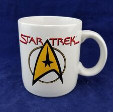 Pfaltzgraff Star Trek Double Sided Command Logo Mug - 1994