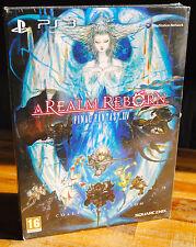 Coffret FINAL FANTASY XIV 14 A REALM REBORN sur PS3 Version FR Neuf sous blister