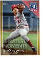 Tom Seaver 2019 Topps Update 150 Years of Professional Baseball 5x7 Gold #150-75