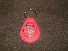 PONTIAC FIERO CATALINA GRAND AM PRIX G3 G5 G6 G8 VIBE SOLSTICE KEYCHAIN RED R