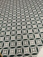 Art Of The Loom Geometric Black Fabric Craft Remnant 100cm x 137cm