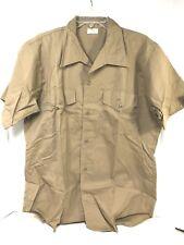 VIETNAM USMC KHAKI SHIRT SHORT SLEEVE US XL
