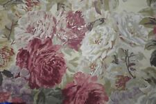 "ZOFFANY CURTAIN FABRIC ""Rose Absolute"" 2.2 METRES ANTIQUE 100% WOOL WINTERBOURNE"