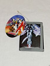 NEW WITH TAGS MOBILE SUIT GUNDAM WING KIDS COIN TRI FOLD BLACK BANDAI WALLET
