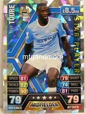 Match Attax 2013/14 Premier League - #169 Yaya Toure - Star Player