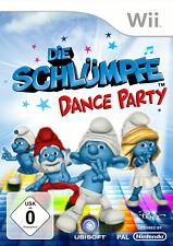 Die Schlümpfe: Dance Party (Nintendo Wii) + neu und ovp+