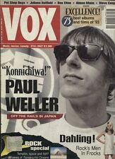 VOX 40/1994 PAUL WELLER PET SHOP BOYS JULIANA HATFIELD BEN ELTON AIMEE MANN