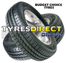 x2 235/55R18 100V NEW BUDGET SUV TYRES 2355518 HIGH QUALITY HIGHWAY PATTERN