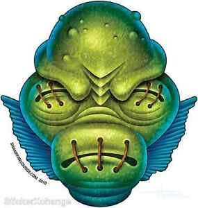 Lagoon Creature Sticker Decal Artist Doug Horne H14