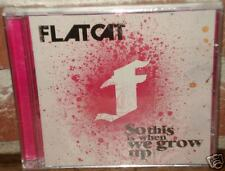CD - FLATCAT: So this is when we grow up (Belgian punk)