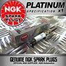 1 x NGK PLATINUM SPARK PLUGS 5758 FOR VOLKSWAGEN GOLF MK6 1.4 (10/08-->)