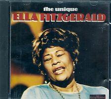 CD COMPIL 21 TITRES--ELLA FITZGERALD--THE UNIQUE