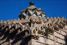 525085 Roof Of The Museum Of Antonio Gaudi In Barcelona Spain A4 Photo Print