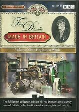FRED DIBNAH'S MADE IN BRITAIN VOLUME NINE, 9. ENGINES AT WORK DVD