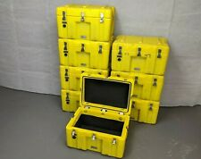 British Army - Military - Lockable Equipment Transport Flight Storage Case Box