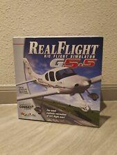 Real Flight Remote Control R/C Simulator G 5.5 W/InterLink Elite Controller-NEW