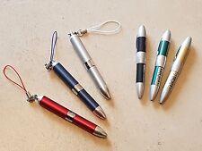 Lot 5 Stylo bille bic ballpoint sbiro PLATINUM plume vulpen pen fullhalter 鋼 NOS