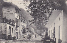 8121) ISELLE STRADA DEL SEMPIONE HOTEL DE LA POSTE BICLETTA. VG 1910.