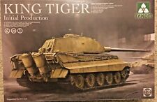 1/35 German KING TIGER Initial Production 4-in-1  ~ NEW TAKOM #2096