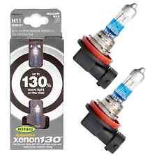 NEW H11 Xenon130 12V 55W + 130% Brighter Pair Xenon Upgrade Headlight Foglight