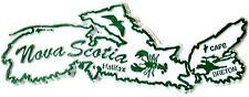 Nova Scotia Halifax Cape Breton Canadian Fridge Magnet