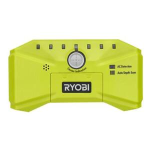 NEW Ryobi LED Stud Finder Detector Wood Mounting Nailing Drywall Metal AC Wire