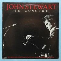JOHN STEWART~IN CONCERT~1980 US 10-TRACK LP RECORD~RCA VICTOR AFL1-3513 [Ref.2]