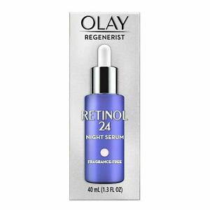 Olay Regenerist Retinol 24 Night Facial Serum Vitamin B3 + Retinol complex 1.3oz