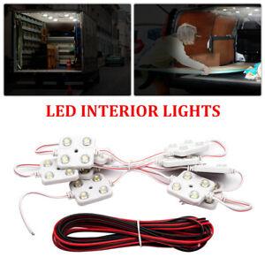 40 LED Innenraum Weißes Licht Kit Set Für LWB Van Sprinter Ducato Transit VW 12V