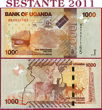 UGANDA -  1000 1.000  SHILLINGS 2010  -  P 49  -  FDS / UNC