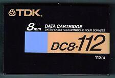 TDK Video8 8mm Hi8 Digital8 Data CAMCORDER VIDEO CAMERA CASSETTE TAPE*NEW