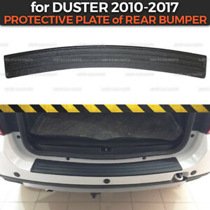 Protective Plate of Rear bumper for Dacia / Renault Duster 2010-2017 Cover Trim