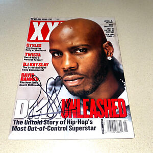 DMX autographed signed XXL MAGAZINE DARK MAN X RAPPER EARL SIMMONS May 2003